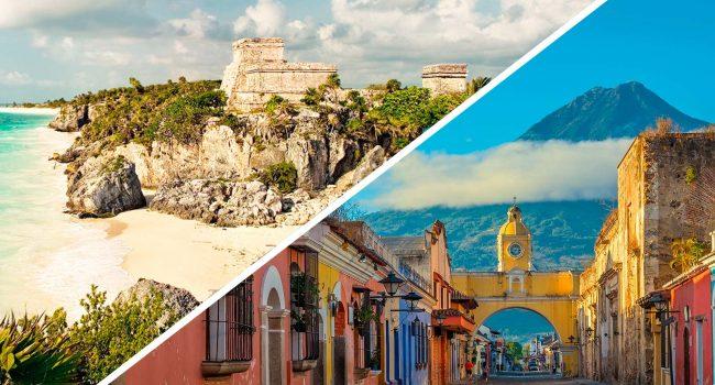 La Riviera Maya y Guatemala