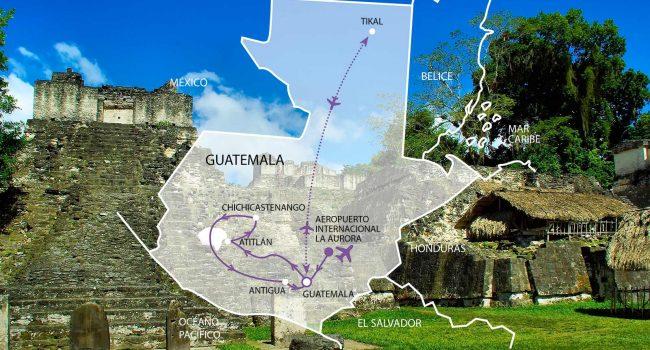 Guatemala Auténtica y Tikal