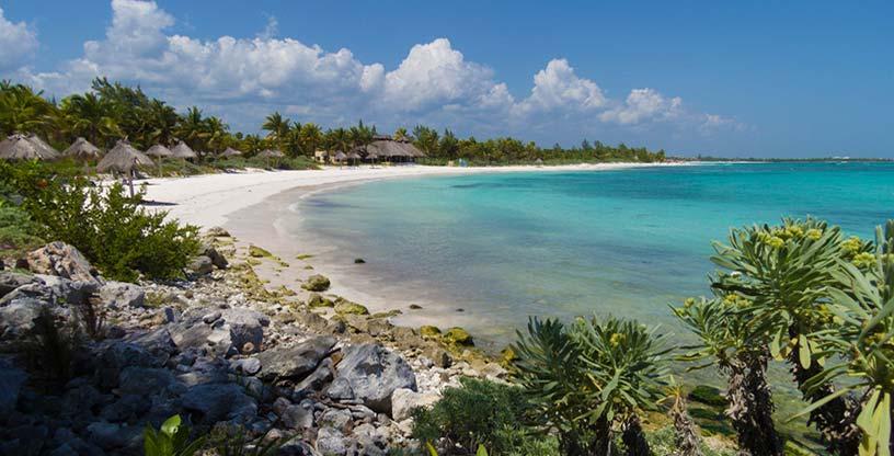 Playas paradisiacas Xpu Ha